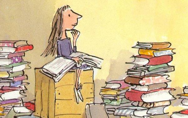 Matilde di Roald Dahl illustrata da Quentin Blake