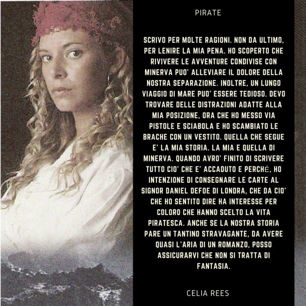 Incipit di Pirate di Celia Rees